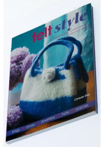 Felt style - angol nyelvű könyv