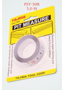 PIT30R öntapadós mérőszalag 3m/16mm Tajima