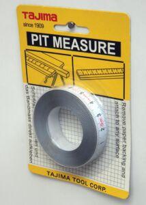 PIT50 öntapadós mérőszalag 5m/13mm Tajima
