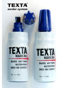 Alkoholos filc K-180 blue TEXTA - kék