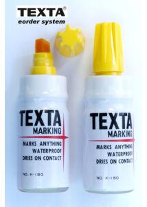 Alkoholos filc K-180 yellow TEXTA - sárga