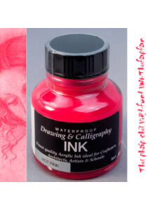 Kalligráf/rajztinta 30ml Diamine - Hot pink