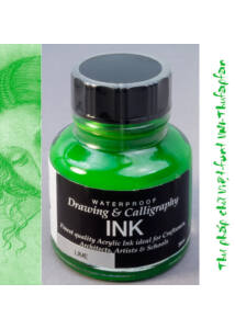 Kalligráf/rajztinta 30ml Diamine - Lime