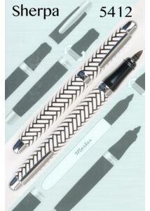 Sherpa tolltest + Sharpie marker - 5412 Herringbone