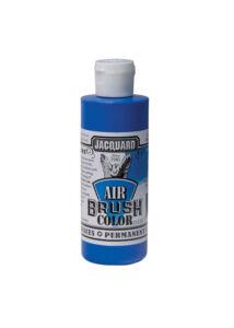 Akrilfesték 118ml Airbrush Jacquard - Fluorescent Blue