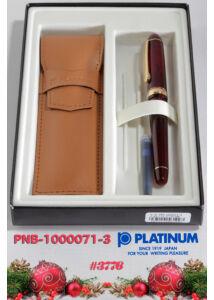 Töltőtoll PNB-10000/71 Bourgogne Platinum M heggyel-  csak személyes átvétellel