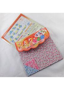 Origami 15cm 32lap virágos Chiyogami