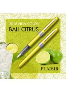 Töltőtoll Plaisir PGB-1000 Citrus Platinum