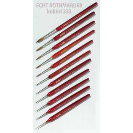 Ecset 333-2/0 kör vörösnyest Kolibri