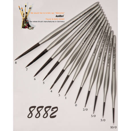 Ecset 8882/0 kör szintetikus Kolibri