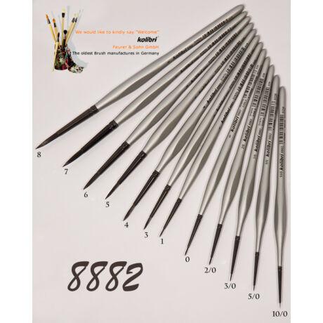 Ecset 8882/3 kör szintetikus Kolibri