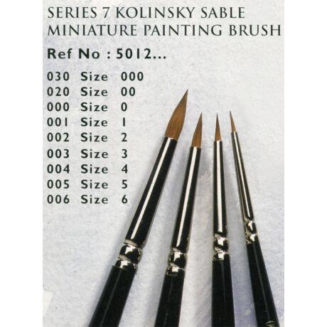 Ecset Series 7 Miniature/ 0 kör Kolinszky nyest
