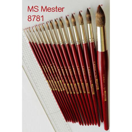 Ecset 8781/26 kör mongúzimit. MS Mester
