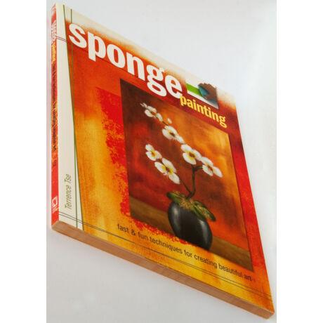 Sponge painting - angol nyelvű könyv