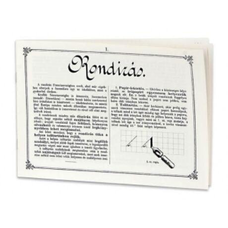 Gyakorló füzet: Rondírás