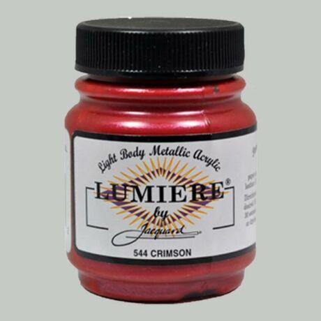 Akrilfesték 70ml Lumiere Jacquard - 544 Crimson