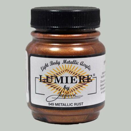 Akrilfesték 70ml Lumiere Jacquard - 549 Metalic rust