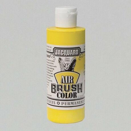 Akrilfesték 118ml Airbrush Jacquard - Opaque yellow