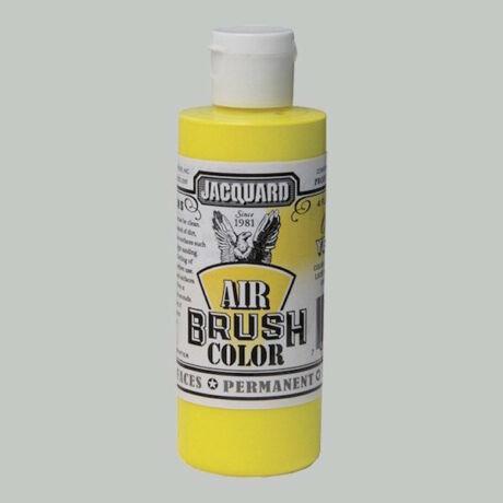 Akrilfesték 118ml Airbrush Jacquard - Fluorescent yellow