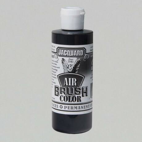 Akrilfesték 118ml Airbrush Jacquard - Opaque Black