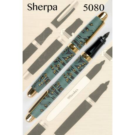 Sherpa tolltest + Sharpie marker - 5080 Circuit Board