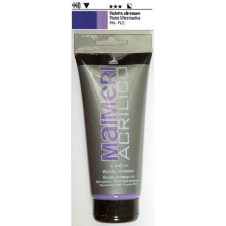 Akrilfesték 200ml Maimeri 440 Violet Ultramarine