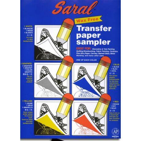 Viaszmentes transfer papír A4/5ív Saral