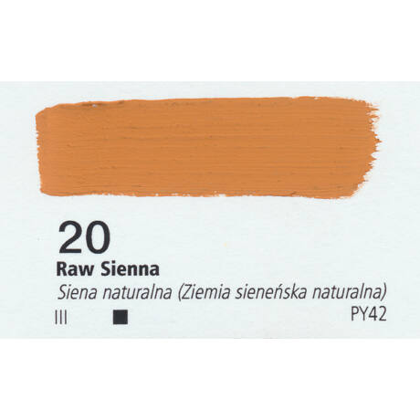 Gouache 20ml Renesans - 20 Raw Siena