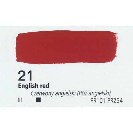 Gouache 20ml Renesans - 21 English red