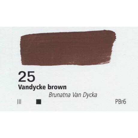 Gouache 20ml Renesans - 25 Van Dyck brown