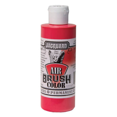 Akrilfesték 118ml Airbrush Jacquard - Opaque red
