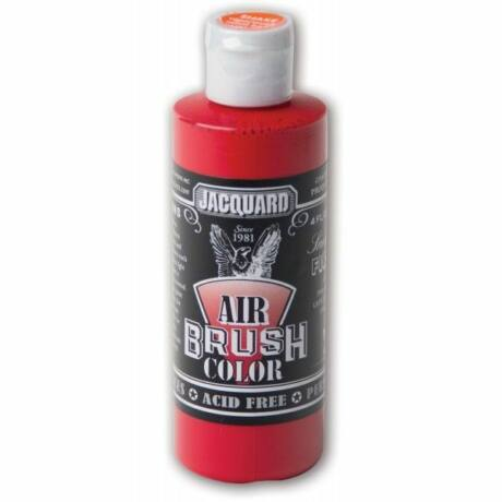 Akrilfesték 118ml Airbrush Jacquard - 454 Sneakers Fire red