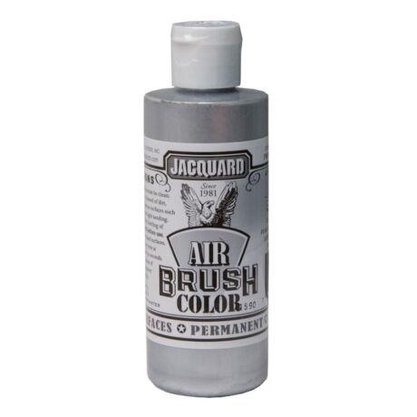 Akrilfesték 118ml Airbrush Jacquard - 305 Metalic Silver