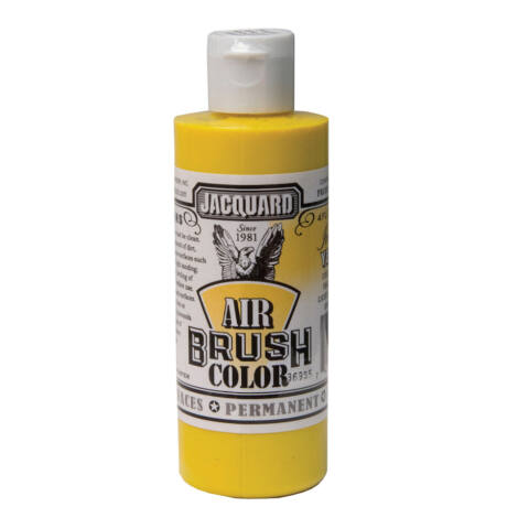 Akrilfesték 118ml Airbrush Jacquard - 600 Irid. Yellow