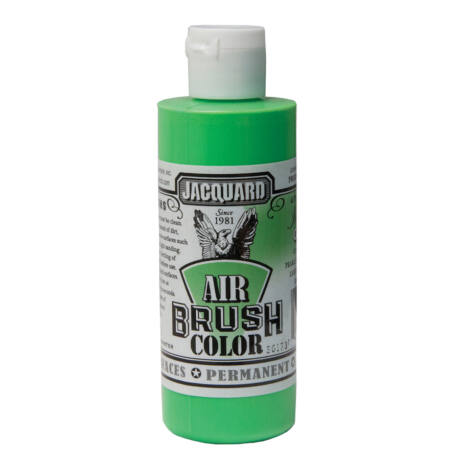 Akrilfesték 118ml Airbrush Jacquard - 603 Irid. Green