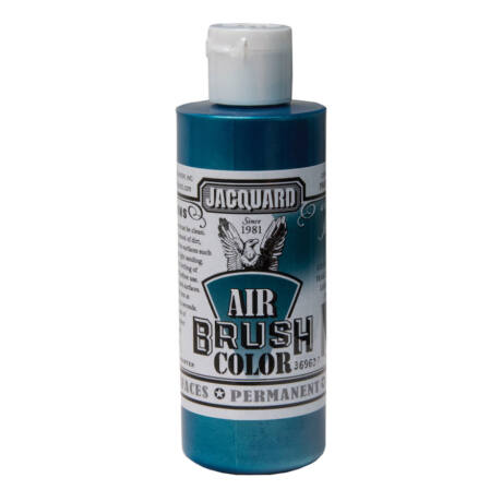 Akrilfesték 118ml Airbrush Jacquard - 605 Irid. Teal