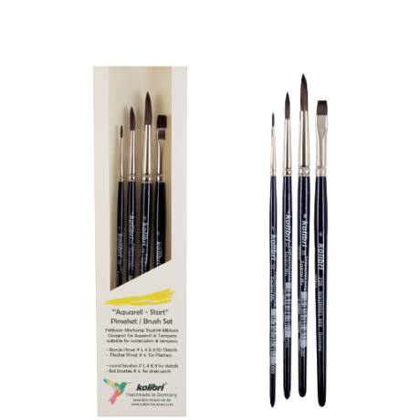 Akvarell kezdő ecsetszett - Kolibri FS-190-198
