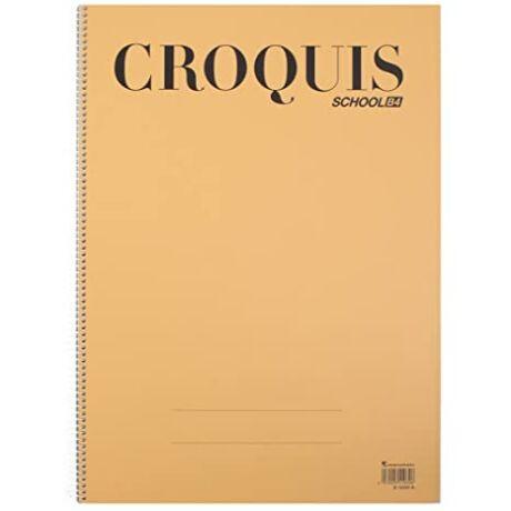 Rajztömb B4/35lap Cream Croquis Maruman S1030A