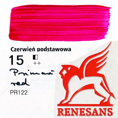 Akrilfesték 60ml Maxi Renesans - 15 Primary red