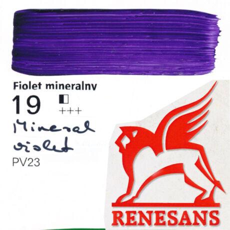 Akrilfesték 60ml Maxi Renesans - 19 Mineral violet