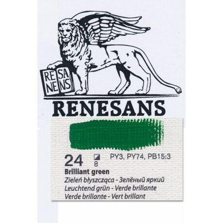 Olajfesték 200ml BLUR Renesans - 24 Brillant green