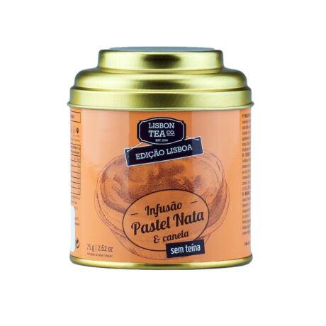 Gyümölcstea 75g Natas+fahéj ízű Lisbon Tea co.