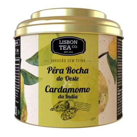 Gyümölcstea 75g Pera cardamon Lisbon Tea co.
