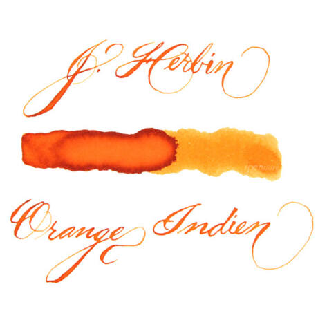 Tinta 30ml Herbin - Orange Indien
