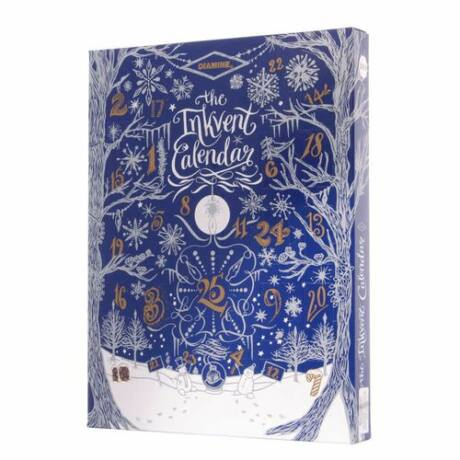 Töltőtolltinta kalendárium szett 24x7ml+30ml Inkvent Calendar Diamine