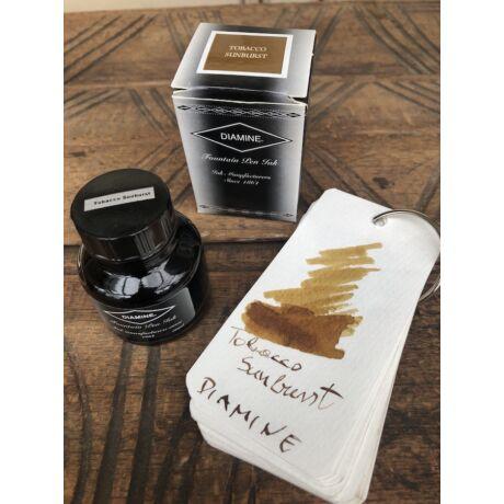 2019 újdonsága: Töltőtolltinta 30ml Diamine - Tobacco Sunburst