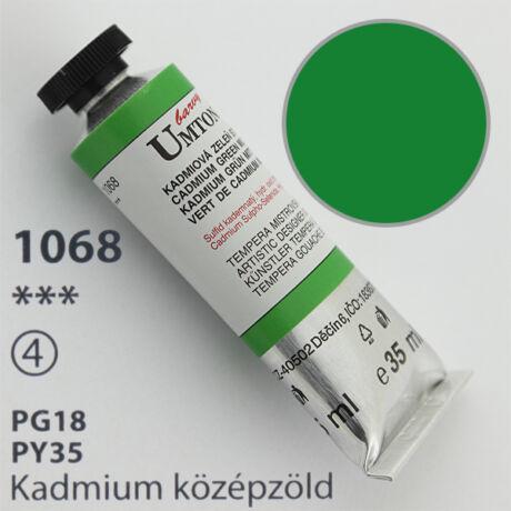 Gouache 35ml Umton - 1068 Kadmium közép zöld