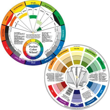 Színkerék zsebméretű Color Wheel ACW3501