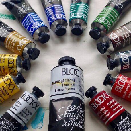 Extrafinom művész olajfesték Blockx