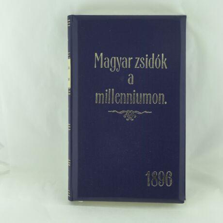 Könyv - Magyar zsidók a Milleniumon
